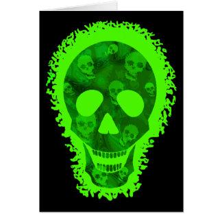 Big Skull greetings card
