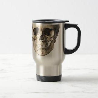 Big Skull, Small Skull Stainless Steel Travel Mug