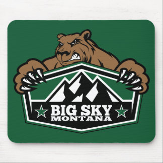 Big Sky Brown Bear Mouse Pad