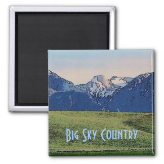 Big Sky Country Magnet