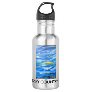 Big Sky Country, Montana water bottle