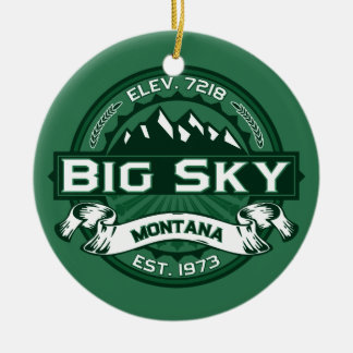 Big Sky Forest Christmas Ornament