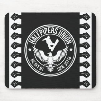 Big Sky Halfpipers Union Mouse Pad