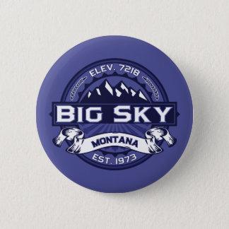 Big Sky Logo MIdnight 6 Cm Round Badge