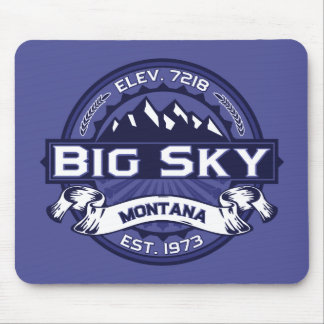 Big Sky Logo MIdnight Mouse Pad