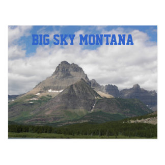 Big Sky Montana Travel Postcard