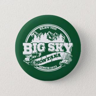 Big Sky Old Circle 6 Cm Round Badge