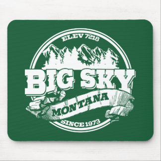 Big Sky Old Circle Mouse Pad