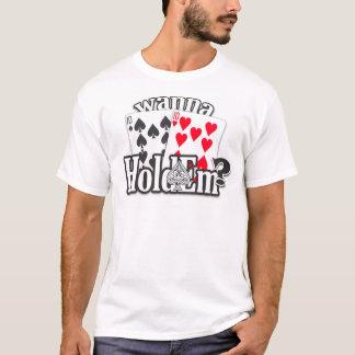 Big Slick Poker Shirt - Wanna HoldEm? - TENS -