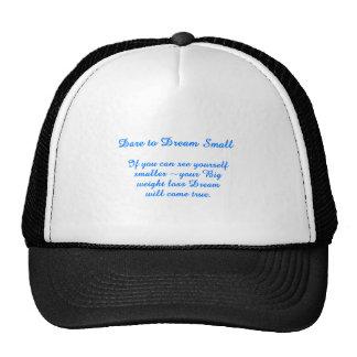 Big Small Dream Trucker Hats