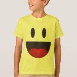 Big smile emoji t-shirt