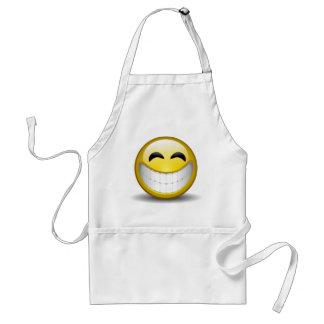 Big Smile Emoticon Standard Apron
