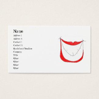 BIG SMILE profile card