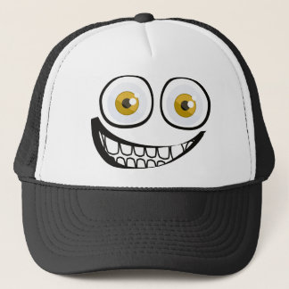 Big smile trucker hat