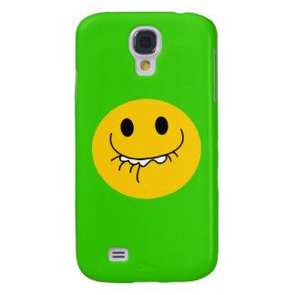 big smile yellow smiley face galaxy s4 case