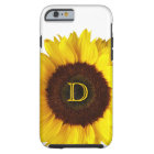Big Smile/Yellow Sunflower Personalised Tough iPhone 6 Case