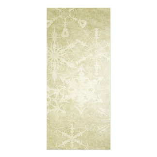 Big Snow Flakes Personalized Rack Card
