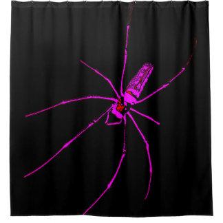 Big Spider Shower Curtain