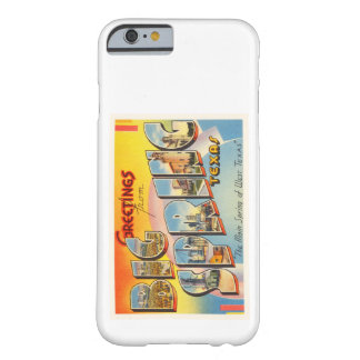 Big Spring Texas TX Old Vintage Travel Souvenir Barely There iPhone 6 Case