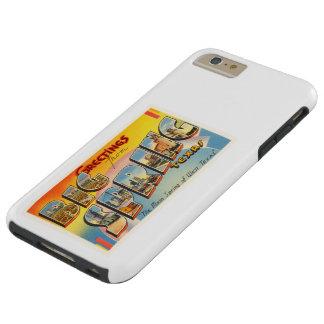 Big Spring Texas TX Old Vintage Travel Souvenir Tough iPhone 6 Plus Case