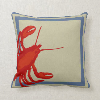 Big Square Lobster Pillow