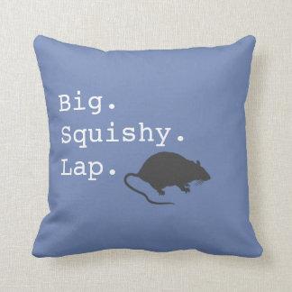 Big Squishy Lap Rat Cushion