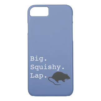 Big Squishy Lap Rat iPhone 8/7 Case