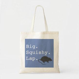 Big Squishy Lap Rat Tote Bag