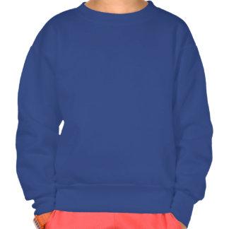 Big star outline pull over sweatshirt