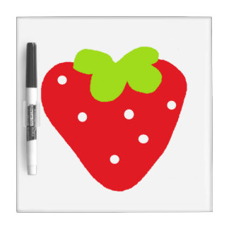 Big Strawberry Dry Erase Board