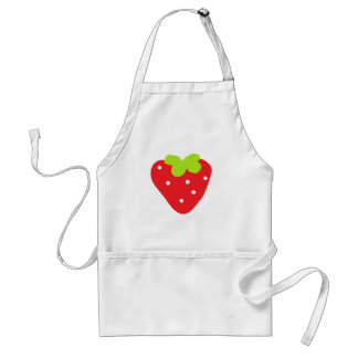 Big Strawberry Standard Apron