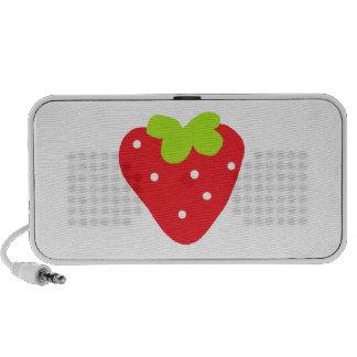 Big Strawberry Travel Speaker