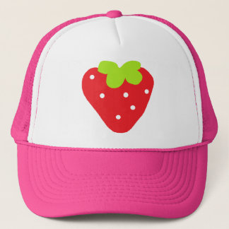 Big Strawberry Trucker Hat