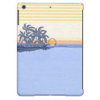 Big Sunset Stripe Hawaiian iPad Air Case