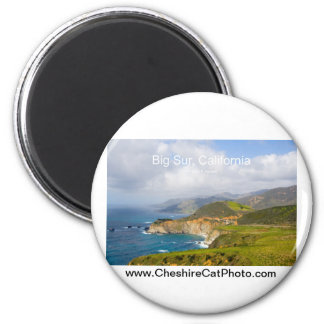 Big Sur 0033 California Products Magnet