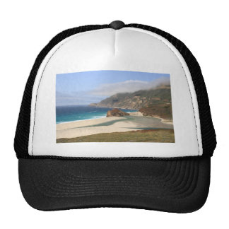 Big Sur Beach Trucker Hats