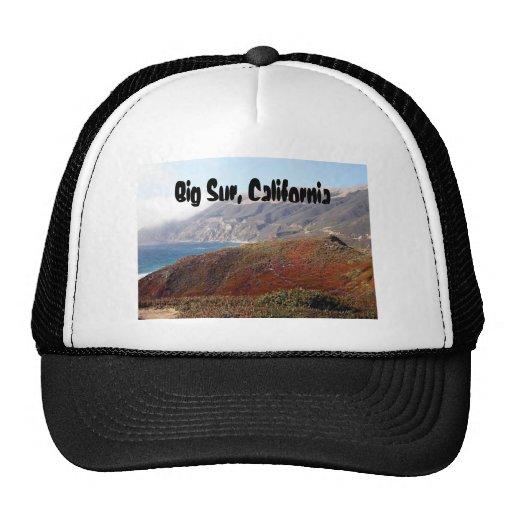 Big Sur, California landscape Mesh Hat