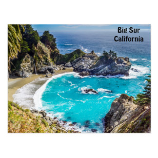 Big Sur California Pfeiffer Beach Postcard