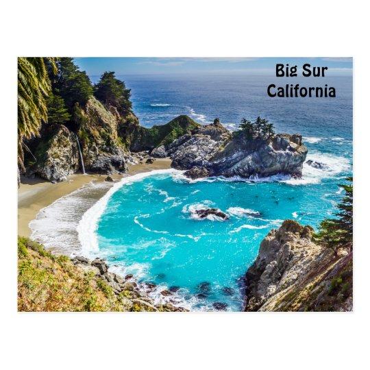 Big Sur California Pfeiffer Beach Postcard