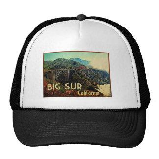 Big Sur California Vintage Trucker Hats