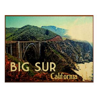 Big Sur California Vintage Postcard