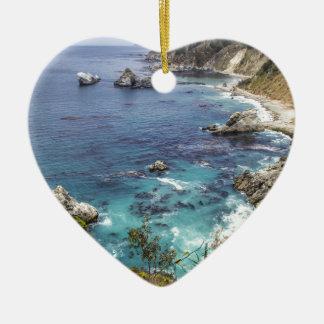 Big Sur Ceramic Heart Decoration