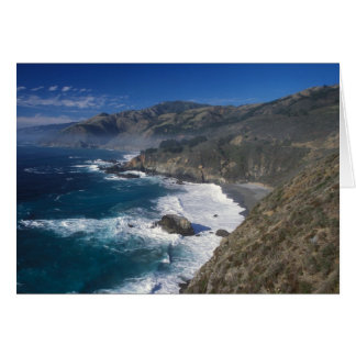 Big Sur Coast California Card