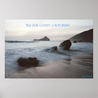 Big Sur Coast, California. Poster