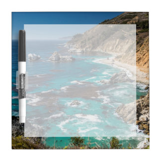 Big Sur Coastline,West Coast,Pacific Coast Dry Erase Whiteboard