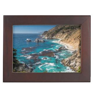 Big Sur Coastline,West Coast,Pacific Coast Keepsake Box