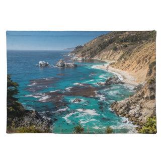 Big Sur Coastline,West Coast,Pacific Coast Placemat