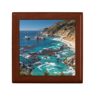 Big Sur Coastline,West Coast,Pacific Coast Small Square Gift Box