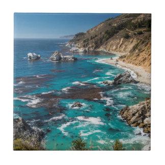 Big Sur Coastline,West Coast,Pacific Coast Tile