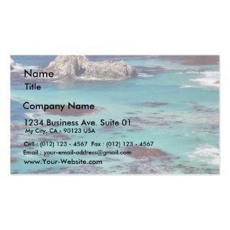 Big Sur Ocean Coastlines Pack Of Standard Business Cards